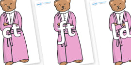 Final Letter Blends on Mummy Bear