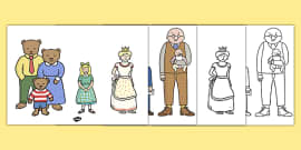 The Jolly Postman Characters to Support Teaching on The Jolly Postman