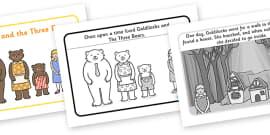 Goldilocks and the Three Bears Story