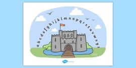 Castles & Knights Alphabet Arc