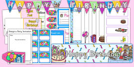 Birthday Role Play Pack