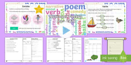 * NEW * KS1 National Poetry Day 2017 Resource Pack