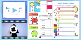 Days of the Week  Activity Pack