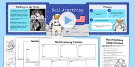 Neil Armstrong Lesson Teaching Pack