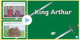 King Arthur Story PowerPoint