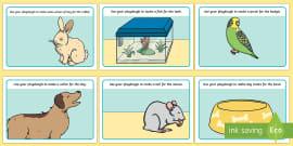 Pets Playdough Mats