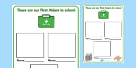 Editable First Aiders Poster