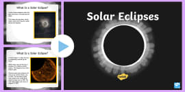 Solar Eclipse PowerPoint