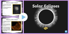 Solar Eclipse PowerPoint