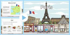 Paris Information PowerPoint
