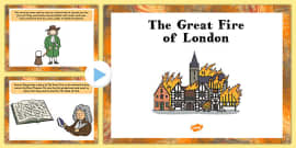 The Great Fire of London Information PowerPoint