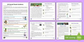 60-Second Reads: Magic, Wizards and Witches Activity Cards