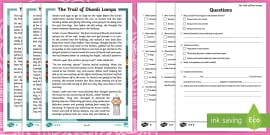 * NEW * KS1 Diwali Story Differentiated Reading Comprehension Activity