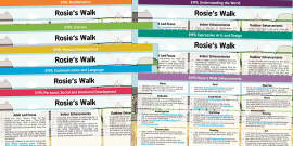 EYFS Lesson Plan and Enhancement Ideas to Support Teaching on Rosie's Walk