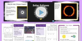K-2 Solar Eclipse Activity Pack