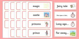 Fairy Tale Word Cards