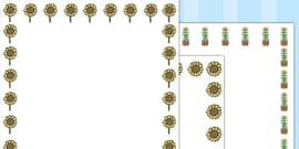 Sunflower Page Borders (Australia)