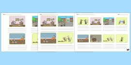The Town Mouse and the Country Mouse Storyboard Template