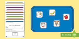 * NEW * What's on the Tray? Alphabet Memory Activity Pack