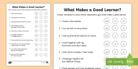 * NEW * KS1 What Makes a Good Learner? Survey Activity