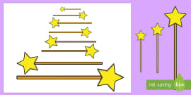 * NEW * Magic Wand Measuring Activity