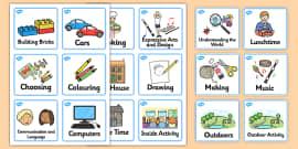 Editable Nursery / Foundation Stage 1 Visual Timetable