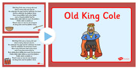 Old King Cole Nursery Rhyme PowerPoint