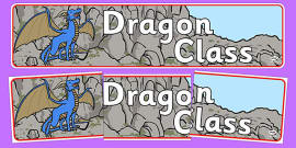 Dragon Class Display Banner
