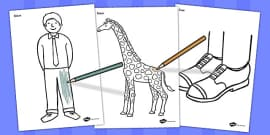 Giant Themed Colouring Pages