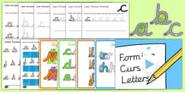 Cursive Handwriting and Letter Formation Pack