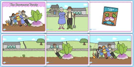 The Enormous Turnip Story Sequencing