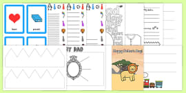 Father's Day Breakfast Club Activity Resource Pack