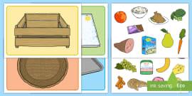 * NEW * Visual Food Group Sorting Activity Mat