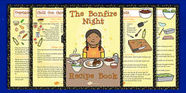 Bonfire Night Recipe Booklet