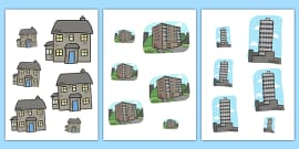 Houses and Homes Size Ordering