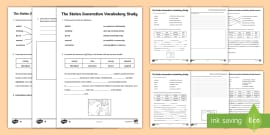 Stolen Generation Vocabulary Study Differentiated Activity