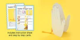 Easter Prayer Card Craft Instructions