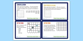 Space Themed Maths Challenge Cards KS2