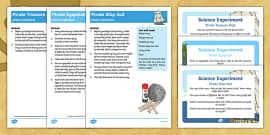 EYFS Pirate-Themed Science Experiments Resource Pack