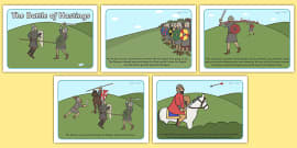 The Battle of Hastings Story Sequencing