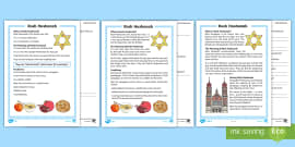 KS1 Rosh Hashanah Differentiated Reading Comprehension Activity