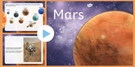 All About Mars PowerPoint