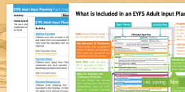 EYFS Pancake Day Adult Input Planning and Resource Pack Overview