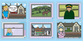 The Train Ride Story Sequencing