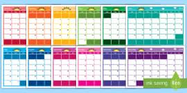 * NEW * 2018 Themed Display Calendar