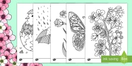 Spring Mindfulness Colouring