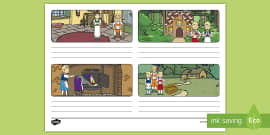 Hansel and Gretel Storyboard Template