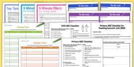 NQT Teaching File Resource Pack