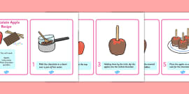 Chocolate Apple Recipe Instructions