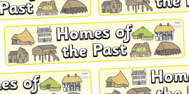 Homes of the Past Display Banner